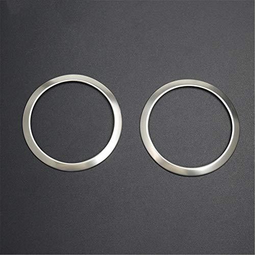 FLJKCT Altavoz de Puerta de Coche, Pegatina Circular Decorativa, Ajuste de Altavoz, Accesorios Interiores de Estilo de Coche, para BMW 3 Series E90 E92 E93 X1 E84