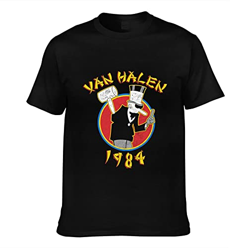 Van Halen 1984 T-shirt, Black for Men, S to 5XL
