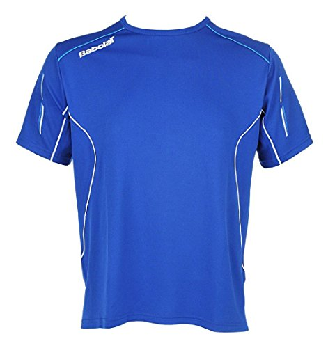 Babolat Match Core Camiseta Chicos, Azul, 8-10 Años