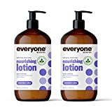 Everyone Lotion: Lavender and Aloe, 32 Ounce, 2 Count- Packaging May Vary