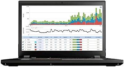 "Lenovo ThinkPad P51 Mobile Workstation Laptop - Windows 10 Pro - Intel Xeon E3-1505M, 64GB RAM, 1TB SSD, 15.6"" FHD IPS 192..."