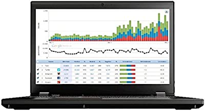 Lenovo ThinkPad P51 Mobile Workstation Laptop - Windows 10 Pro - Intel Quad-Core i7-7700HQ, 16GB RAM, 256GB SSD, 15.6