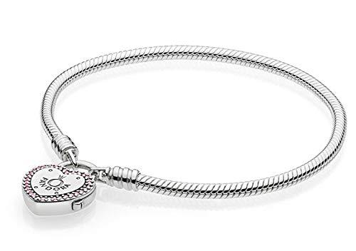 Pandora Damen-Charm-Armbänder 925 Sterlingsilber zirkonia 596586FPC-17