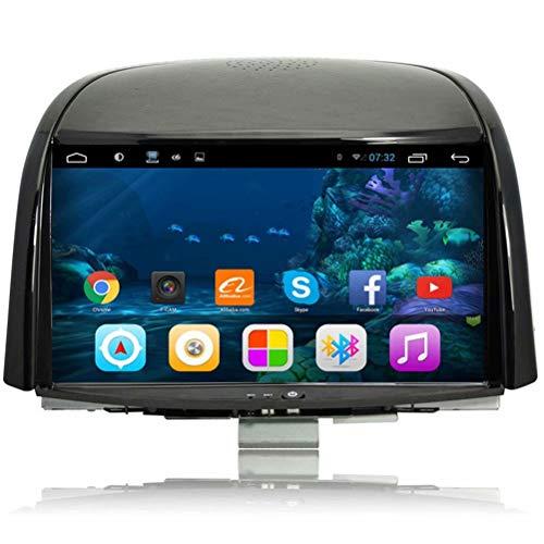 TOPNAVI 8Inch Stéréo pour Renault Koleos 2009 2010 2011 2012 2013 2014 2015 2016 Android 6.0 Auto Stéréo GPS pour Voiture NavigationWIFI 3G RDS Miroir Lien BT