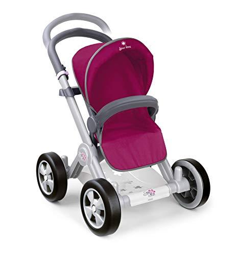 Famosa- Carrito de Paseo para muñeco Bebé, Color Rosado (800008880)