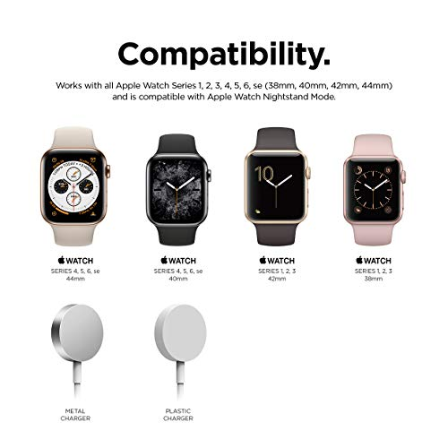 【elago】AppleWatch対応充電スタンドシリコン充電ドックアクセサリーノスタルジックレトロデザイン[AppleWatchSE&Series6Series5Series440mm/44mm&Series3Series2series138mm/42mmアップルウォッチ対応]W4STANDアクアブルー