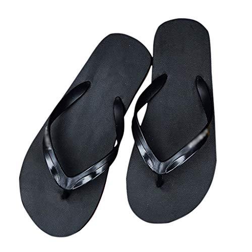 ZHJING Verão Flip-flops personalidade ao ar livre desgaste desgaste dos homens negros (Size : 43)