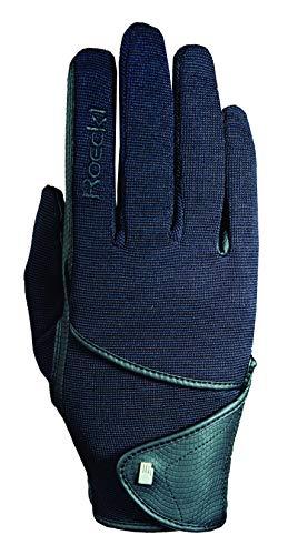 Roeckl Sports Handschuh Madison, Kinder Reithandschuh, Schwarz 5