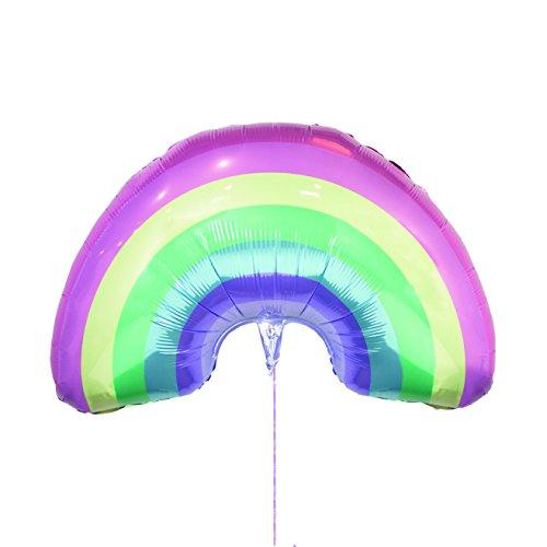 """Talking Tables Nos Encanta Unicornios Globo en Colores Pastel Gigante del Arco Iris 31\"""" para Fiestas de Unicornio y Fiestas de Cumpleaños,"""