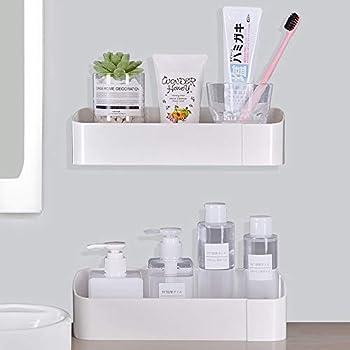 2-Pieces YingPo Wallmount Shower Shelves