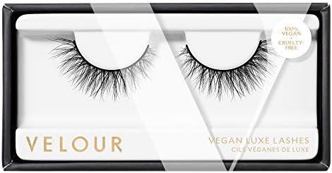 Velour Vegan Mink Luxe Lashes False Eyelashes Lightweight Reusable Handmade Lashes Wear up to product image