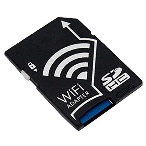 Laileya Micro TF Convertidor Tarjeta SD WiFi Adaptador Cera Fotos de transmisión inalámbrica de Repuesto para