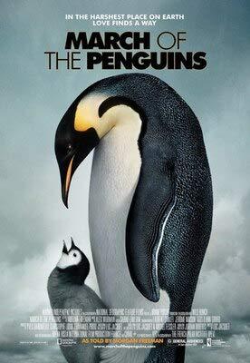 SDFSD Tier Dokumentarfilm Antarktis Arktis Mutter Liebe Tier Film HD Poster Kinderzimmer Schlafzimmer Wandkunst Bild Leinwand Gemälde 40 * 50cm