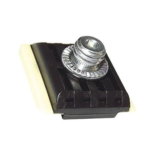 Gedotec Möbel-Gleiter für Tür-Schließer Ersatz-Gleiter zur Reparatur Gleitstein für Gleit-Schiene - GEZE | für E-, R-, ECLine- und ISM-Gleitschienen | 1 Stück