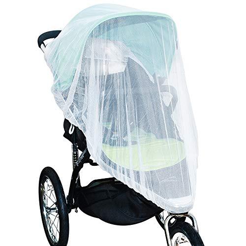 Jolik Mosquitera portadores de sillas de Paseo Cunas, tamaño Universal, mosquitera de Alta Densidad para carriolas