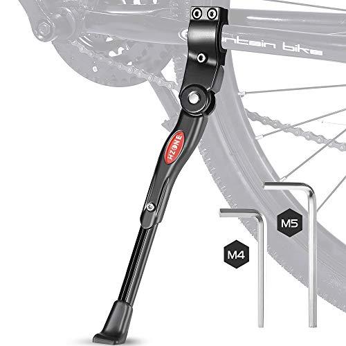 HZONE Fahrradständer,22-28 Zoll Universal-Fahrradständer,Wellenförmiger Rutschfester Bike Stand mit Einstellbarer Höhe (4 cm),Aluminiumlegierung Fahrrad Ständer für Mountainbike/Fahrräder/Klapprad