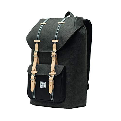 Herschel Little America Backpack 25l Black Crosshatch/Black 2019 Rucksack