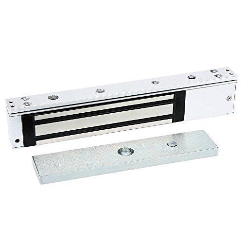 YueYueZou Single Door Magnetic Lock 350 lbs Holding Force for Access Control, Heavy Duty Door Bolt