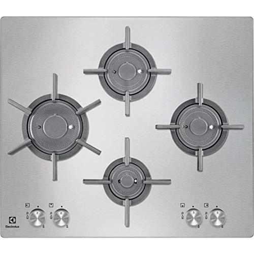 Electrolux - Piano cottura a gas PQF 645 UOX finitura inox da 60cm