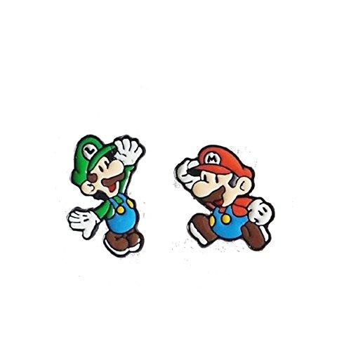 Caringa – Pendientes de Super Mario – Mario y Luigi