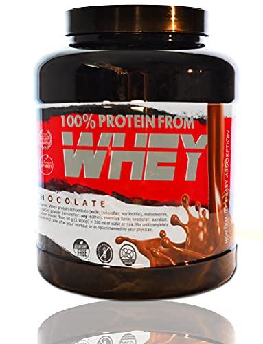 BEAT 100% WHEY Cioccolato 2 kg   Concentrato di proteine del siero di latte isolate; Integratore sportivo
