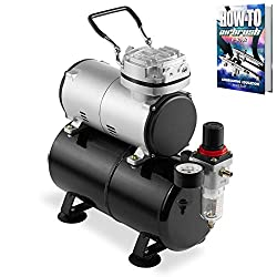 PointZero 1/5 HP Airbrush Compressor
