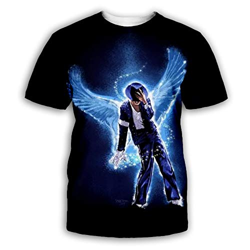 PLstar Cosmos Michael Jackson & Hip-pop Singer Shirt Shirts Tee Vintage Retro Men Tees Top Tee...