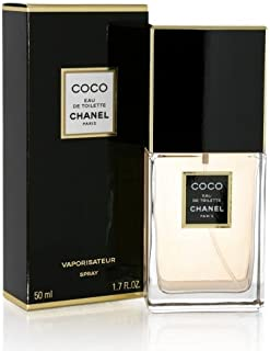 Coco by Chanel for Women, Eau De Toilette Spray, 1.7 Ounce