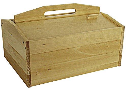protectore Schuhputzkiste GO (aus Holz, leer, ohne Inhalt) - Schuhputz Set