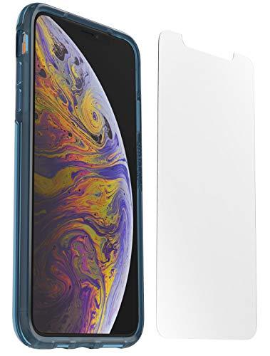 OtterBox Clear Case + Performance Glass, transparente sturzsichere Schutzhülle für iPhone X/Xs - Blau