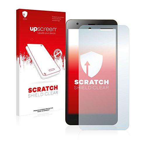 upscreen Protector Pantalla Compatible con Jiayu S3 Película Protectora – Transparente, Anti-Huellas