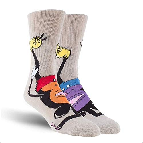 Toy Machine Calcetines Mouseketeer Grey Originales One Size
