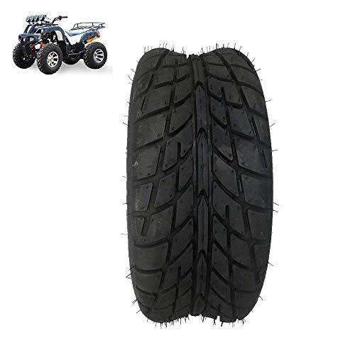 Neumáticos de Scooter eléctrico, neumáticos sin cámara Antideslizantes 19X7.00-8, Patrones de neumáticos de Carretera Resistentes al Desgaste, adecuados para Accesorios de neumáticos de Kart/ATV de