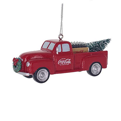 Kurt Adler Coca Cola Truck Ornament 1.3 Inches Tall