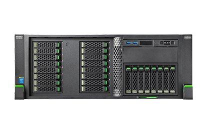 Fujitsu PRIMERGY RX2560 M1 - Intel Xeon E5-2620 v3, Intel C612, 8 GB DDR4, USB 2.0 x 4, USB 3.0 x 5, VGA x 2