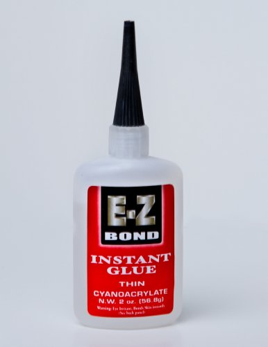 Premium Super Glue - Best Cyanoacrylate Adhesive - Strongest Bond on the Market - Doesn't Clog - Perfect Wood and Shoe Glue - Less than a Minute Cure Time - Works Excellent with Metal, Plastic, Ceramics & More. 2 oz, 50 CPS.