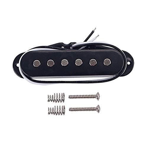 SUPVOX Guitarra bobina simple hot rai humbucker pastillas fender stratocaster squier telecaster...