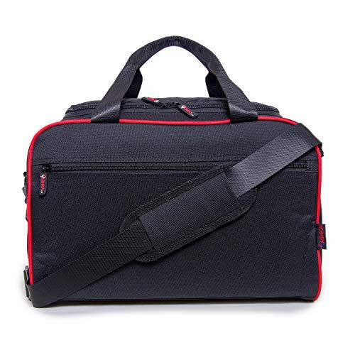 Vashka - Mano Equipaje | Bolsa de Viaje para Ryanair | Tamaño Equipaje de 40 x 25 x 20 cm | Rojo