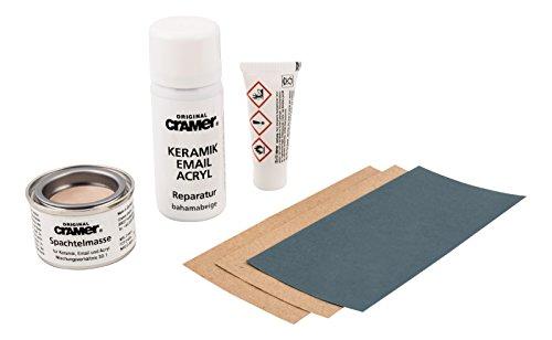 Cramer 66105 8 Reparatur-Set für Keramik,Email und Acryl, Bahama-Beige