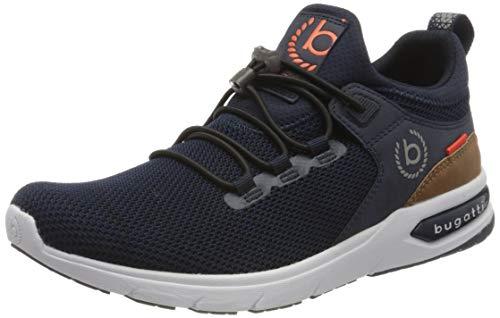 bugatti Herren 342658606900 Slip On Sneaker, Blau, 43 EU