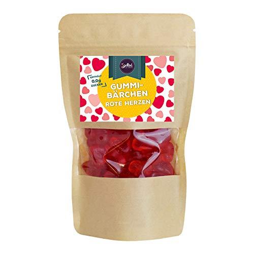 Rote Herzen Gummibärchen von Soulfood LowCaberia 160g