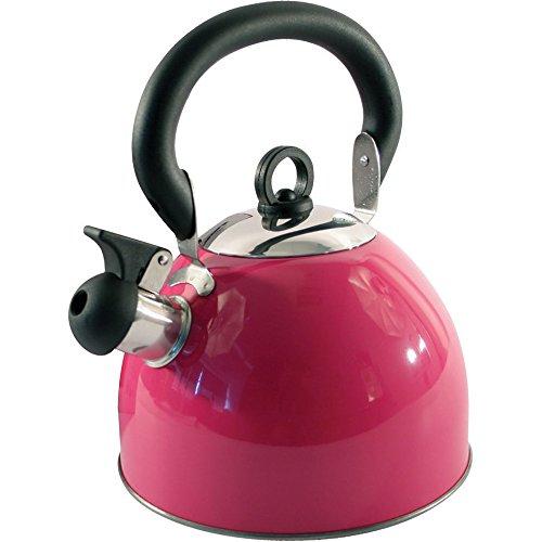 Hervidor de agua de acero inoxidable ligero (2,5 L) rosa