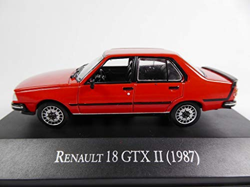 OPO 10 - Renault 18 GTX II 1987 Collection voitures d'Argentine 1/43 (AR18)