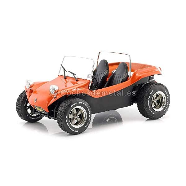 Solido S1802702 Soft ROOF Orange-1/18-S1802702 1:18 Meyers Manx Buggy 1970-Orange Convertible 1802702, Orange