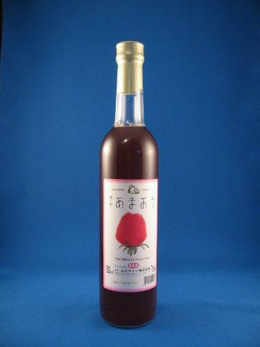 【福岡県】高級いちご【博多あまおう】ワイン 立花ワイン あまおういちごワイン 500ml
