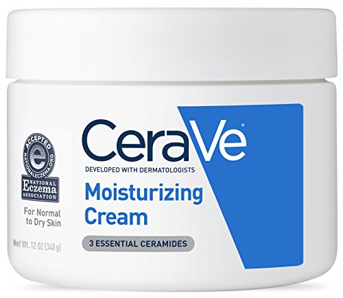 CeraVe Moisturizing Cream, Daily Face and Body Moisturizer for Dry Skin, 12 Ounce