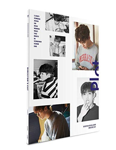 SEVENTEEN Special Album - DIRECTOR'S CUT [ PLOT Ver. ] CD + Photobook + Photocard + Postcard + Lenticular card + FREE GIFT / K-POP Sealed