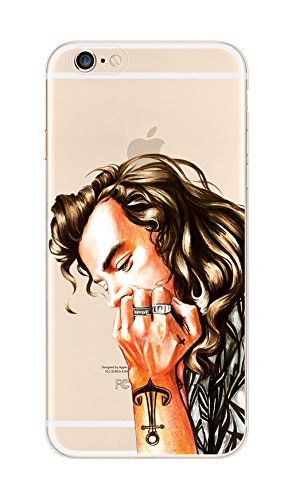 Deco Fairy Flexible Silicone Case Cover Compatible for iPhone 6 / 6s - Perfect Coolest Guy