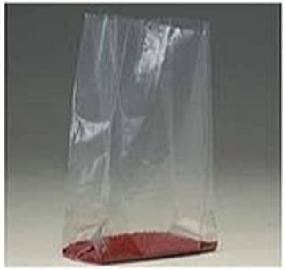 xPB1427-Case Bauxko 6 x 3 1//2 x 18 Gusseted Poly Bags Case of 1000 1.5 Mil