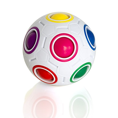 Preisvergleich Produktbild 3D Magic Rainbow Ball Puzzle